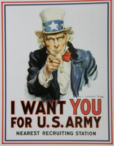 Plechová ceduľa I want you for U.S. army SUPER AKCIA!!!