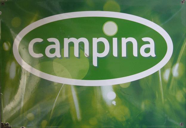 Reklamná ceduľa Campina