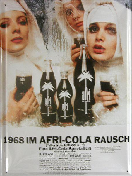 Plechová ceduľa Afri-cola