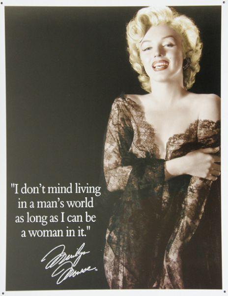 Plechová ceduľa Marilyn Monroe 4