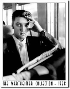 Plechová ceduľa Elvis 2