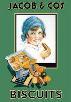Ceduľa Jacob´s Biscuits