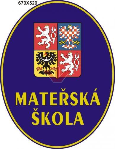 Mateřská škola so štátnym znakom ČR