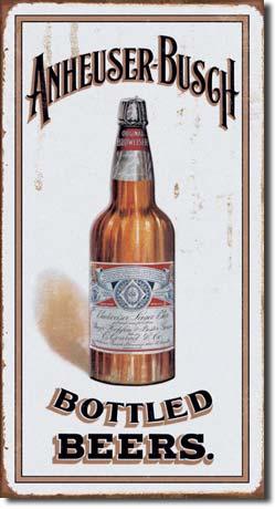 Plechová ceduľa pivo Anheuser - Busch