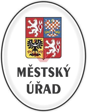 Městský úřad so štátnym znakom ČR