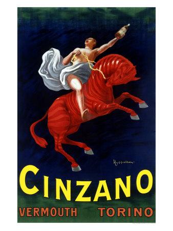 Plechová ceduľa Cinzano vermouth