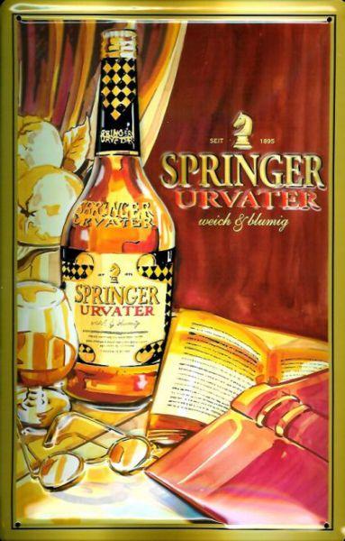 Plechová ceduľa Springer Arvater