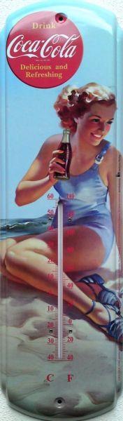 Teplomer Coca-cola Žena