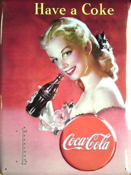 Teplomer Coca-cola Žena 2