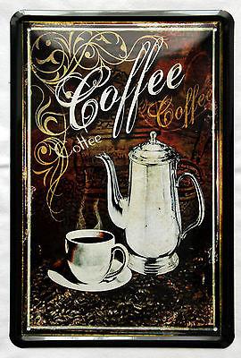 Plechová ceduľa káva Coffe