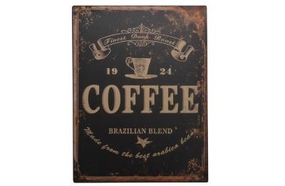 Plechová ceduľa káva Coffee