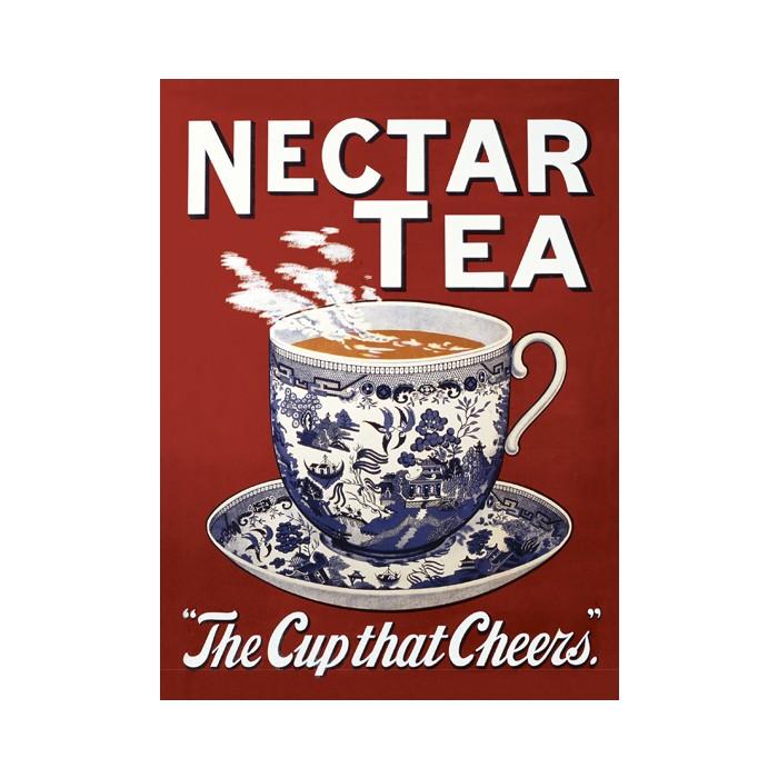Plechová ceduľa Nectar Tea