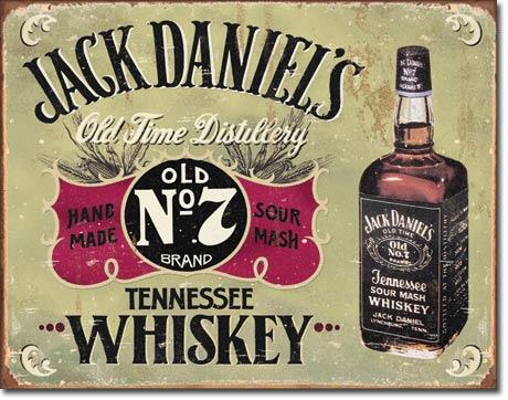 Plechová ceduľa Jack Daniels old NO. 7