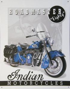 Plechová ceduľa Indian motorcycle roadmaster